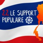 22/ Le support populaire.